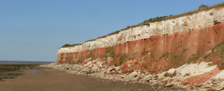 Hunstanton cliffs, Norfolk