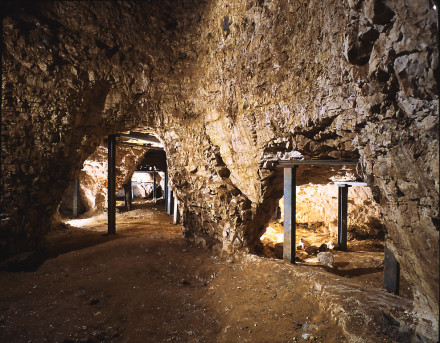 Grimes Graves - Interior neolithic flint mine - Greenwell's Pit