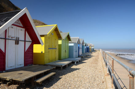 Overstrand beach huts