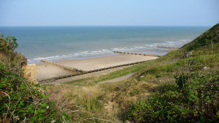 Overstrand beach, north Norfolk