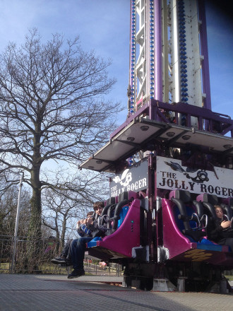 The Jolly Roger at Pleasurewood Hills