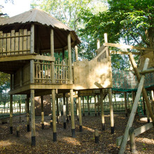 The Woodland Play Area, Holkham