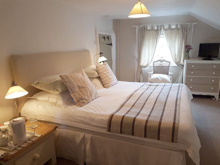 The Avocet room at The White Cottage bed and breakfast, Norfolk