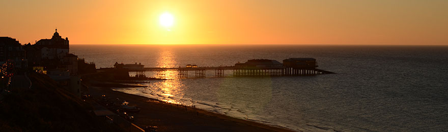 Sunset at Cromer Pier, Norfolk
