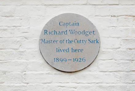 Once the home of Captain Woodget of the Cutty Sark