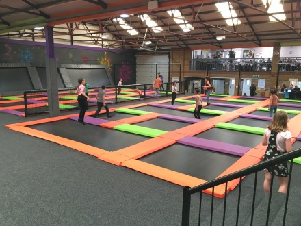 Jump Warehouse Trampoline Park, Great Yarmouth