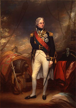 Admiral Lord Nelson, 1801 by William Beechey (1753-1839). © Norfolk Museums Service