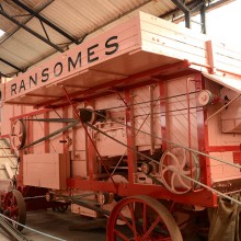 Ransomes Thresher