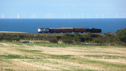 View from nearby Sheringham Park (NT)