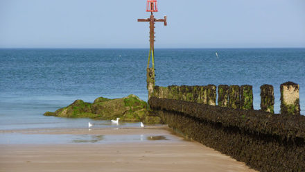Sheringham beach, Norfolk