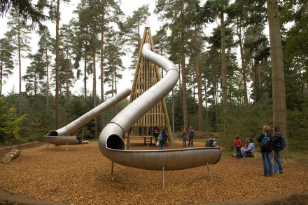 Play area at Thetford Forest, Norfolk