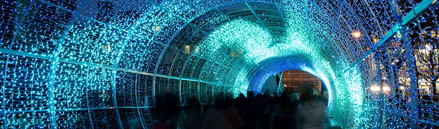 December - Norwich Tunnel of Light